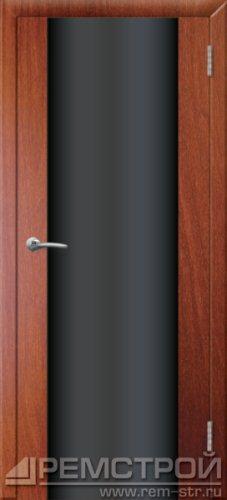 межкомнатные двери, Ремстрой, двери Пенза, двери Заречный, экошпон , модель Hi-Tech-1, орех итальянский, каталог San Remo, со стеклом, с рисунком, с фьюзингом, глухая, комплект, дверное полотно, коробка, наличник, добор, притворная планка, монтаж, установка, производство, от производителя, фурнитура, ручки, петли, защелки, двери купе.