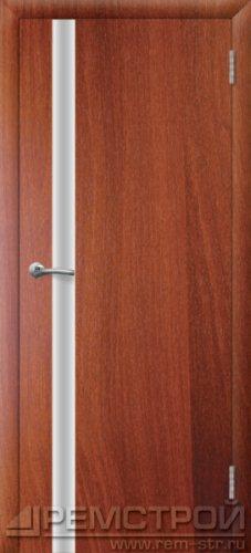 межкомнатные двери, Ремстрой, двери Пенза, двери Заречный, экошпон , модель Hi-Tech-2, орех итальянский, каталог San Remo, со стеклом, с рисунком, с фьюзингом, глухая, комплект, дверное полотно, коробка, наличник, добор, притворная планка, монтаж, установка, производство, от производителя, фурнитура, ручки, петли, защелки, двери купе.