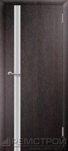 межкомнатные двери, Ремстрой, двери Пенза, двери Заречный, экошпон , модель Hi-Tech-2, венге, каталог San Remo, со стеклом, с рисунком, с фьюзингом, глухая, комплект, дверное полотно, коробка, наличник, добор, притворная планка, монтаж, установка, производство, от производителя, фурнитура, ручки, петли, защелки, двери купе.