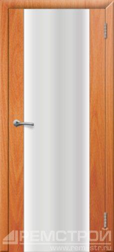межкомнатные двери, Ремстрой, двери Пенза, двери Заречный, экошпон , модель Оптима-1, орех миланский, каталог San Remo, со стеклом, с рисунком, с фьюзингом, глухая, комплект, дверное полотно, коробка, наличник, добор, притворная планка, монтаж, установка, производство, от производителя, фурнитура, ручки, петли, защелки, двери купе.