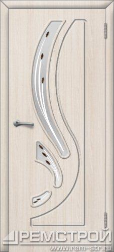 межкомнатные двери, Ремстрой, двери Пенза, двери Заречный, экошпон , модель Фрегат, белое дерево, каталог San Remo, со стеклом, с рисунком, с фьюзингом, глухая, комплект, дверное полотно, коробка, наличник, добор, притворная планка, монтаж, установка, производство, от производителя, фурнитура, ручки, петли, защелки, двери купе.