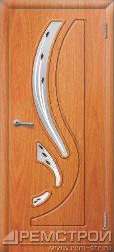 межкомнатные двери, Ремстрой, двери Пенза, двери Заречный, экошпон , модель Фрегат, орех миланский, каталог San Remo, со стеклом, с рисунком, с фьюзингом, глухая, комплект, дверное полотно, коробка, наличник, добор, притворная планка, монтаж, установка, производство, от производителя, фурнитура, ручки, петли, защелки, двери купе.