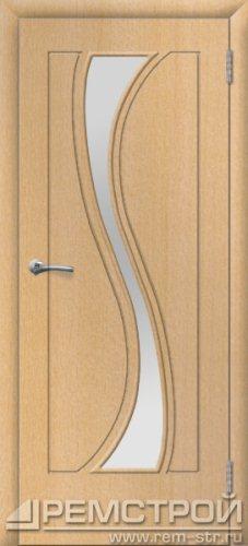 межкомнатные двери, Ремстрой, двери Пенза, двери Заречный, экошпон , модель Грация, бук, каталог San Remo, со стеклом, с рисунком, с фьюзингом, глухая, комплект, дверное полотно, коробка, наличник, добор, притворная планка, монтаж, установка, производство, от производителя, фурнитура, ручки, петли, защелки, двери купе.