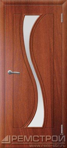 межкомнатные двери, Ремстрой, двери Пенза, двери Заречный, экошпон , модель Грация, орех итальянский, каталог San Remo, со стеклом, с рисунком, с фьюзингом, глухая, комплект, дверное полотно, коробка, наличник, добор, притворная планка, монтаж, установка, производство, от производителя, фурнитура, ручки, петли, защелки, двери купе.