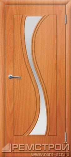 межкомнатные двери, Ремстрой, двери Пенза, двери Заречный, экошпон , модель Грация, орех миланский, каталог San Remo, со стеклом, с рисунком, с фьюзингом, глухая, комплект, дверное полотно, коробка, наличник, добор, притворная планка, монтаж, установка, производство, от производителя, фурнитура, ручки, петли, защелки, двери купе.