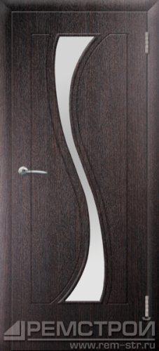 межкомнатные двери, Ремстрой, двери Пенза, двери Заречный, экошпон , модель Грация, венге, каталог San Remo, со стеклом, с рисунком, с фьюзингом, глухая, комплект, дверное полотно, коробка, наличник, добор, притворная планка, монтаж, установка, производство, от производителя, фурнитура, ручки, петли, защелки, двери купе.