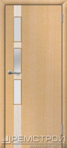 межкомнатные двери, Ремстрой, двери Пенза, двери Заречный, экошпон , модель Европа-1, бук, каталог San Remo, со стеклом, с рисунком, с фьюзингом, глухая, комплект, дверное полотно, коробка, наличник, добор, притворная планка, монтаж, установка, производство, от производителя, фурнитура, ручки, петли, защелки, двери купе.