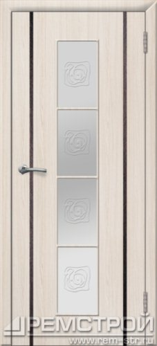 межкомнатные двери, Ремстрой, двери Пенза, двери Заречный, экошпон , модель Европа2, белое дерево, каталог San Remo, со стеклом, с рисунком, с фьюзингом, глухая, комплект, дверное полотно, коробка, наличник, добор, притворная планка, монтаж, установка, производство, от производителя, фурнитура, ручки, петли, защелки, двери купе.