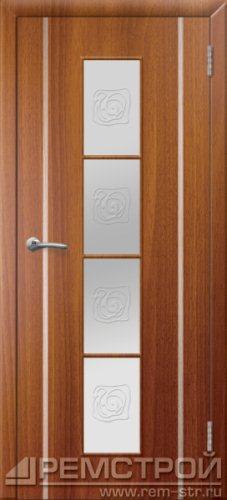 межкомнатные двери, Ремстрой, двери Пенза, двери Заречный, экошпон , модель Европа2, каштан, каталог San Remo, со стеклом, с рисунком, с фьюзингом, глухая, комплект, дверное полотно, коробка, наличник, добор, притворная планка, монтаж, установка, производство, от производителя, фурнитура, ручки, петли, защелки, двери купе.
