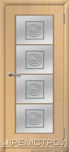 межкомнатные двери, Ремстрой, двери Пенза, двери Заречный, экошпон , модель Вена, бук, каталог San Remo, со стеклом, с рисунком, с фьюзингом, глухая, комплект, дверное полотно, коробка, наличник, добор, притворная планка, монтаж, установка, производство, от производителя, фурнитура, ручки, петли, защелки, двери купе.