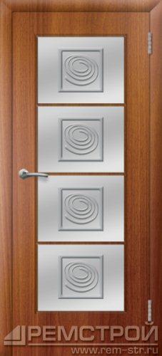 межкомнатные двери, Ремстрой, двери Пенза, двери Заречный, экошпон , модель Вена, каштан, каталог San Remo, со стеклом, с рисунком, с фьюзингом, глухая, комплект, дверное полотно, коробка, наличник, добор, притворная планка, монтаж, установка, производство, от производителя, фурнитура, ручки, петли, защелки, двери купе.
