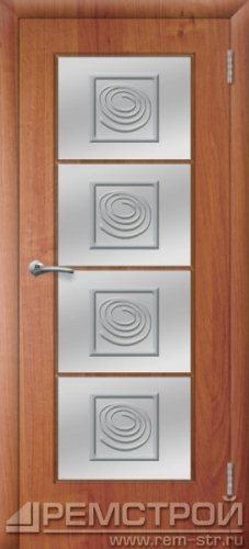 межкомнатные двери, Ремстрой, двери Пенза, двери Заречный, экошпон , модель Вена, ольха бавария, каталог San Remo, со стеклом, с рисунком, с фьюзингом, глухая, комплект, дверное полотно, коробка, наличник, добор, притворная планка, монтаж, установка, производство, от производителя, фурнитура, ручки, петли, защелки, двери купе.