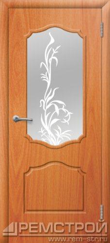 межкомнатные двери, Ремстрой, двери Пенза, двери Заречный, экошпон , модель Кармен, орех миланский, каталог San Remo, со стеклом, с рисунком, с фьюзингом, глухая, комплект, дверное полотно, коробка, наличник, добор, притворная планка, монтаж, установка, производство, от производителя, фурнитура, ручки, петли, защелки, двери купе.