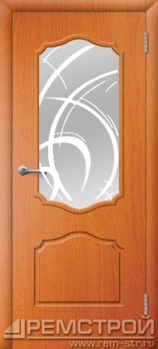 межкомнатные двери, Ремстрой, двери Пенза, двери Заречный, экошпон , модель Кармен, вишня форема, каталог San Remo, со стеклом, с рисунком, с фьюзингом, глухая, комплект, дверное полотно, коробка, наличник, добор, притворная планка, монтаж, установка, производство, от производителя, фурнитура, ручки, петли, защелки, двери купе.