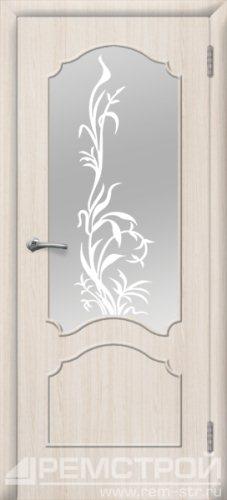 межкомнатные двери, Ремстрой, двери Пенза, двери Заречный, экошпон , модель Глория, белое дерево, каталог San Remo, со стеклом, с рисунком, с фьюзингом, глухая, комплект, дверное полотно, коробка, наличник, добор, притворная планка, монтаж, установка, производство, от производителя, фурнитура, ручки, петли, защелки, двери купе.