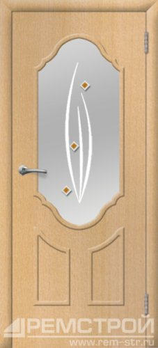 межкомнатные двери, Ремстрой, двери Пенза, двери Заречный, экошпон , модель Прима2, бук, каталог San Remo, со стеклом, с рисунком, с фьюзингом, глухая, комплект, дверное полотно, коробка, наличник, добор, притворная планка, монтаж, установка, производство, от производителя, фурнитура, ручки, петли, защелки, двери купе.