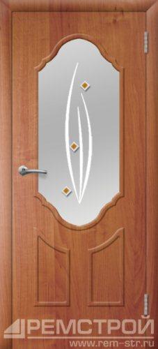 межкомнатные двери, Ремстрой, двери Пенза, двери Заречный, экошпон , модель Прима2, ольха бавария, каталог San Remo, со стеклом, с рисунком, с фьюзингом, глухая, комплект, дверное полотно, коробка, наличник, добор, притворная планка, монтаж, установка, производство, от производителя, фурнитура, ручки, петли, защелки, двери купе.