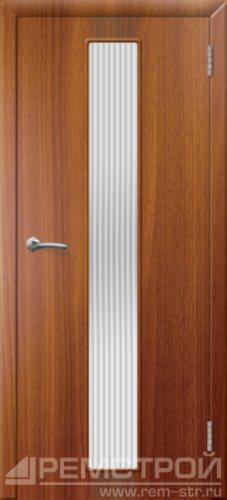 межкомнатные двери, Ремстрой, двери Пенза, двери Заречный, экошпон , модель Оскар, каштан, каталог San Remo, со стеклом, с рисунком, с фьюзингом, глухая, комплект, дверное полотно, коробка, наличник, добор, притворная планка, монтаж, установка, производство, от производителя, фурнитура, ручки, петли, защелки, двери купе.
