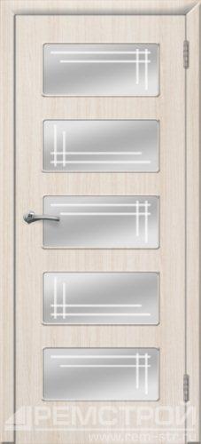 межкомнатные двери, Ремстрой, двери Пенза, двери Заречный, экошпон , модель Барбара, белое дерево, каталог San Remo, со стеклом, с рисунком, с фьюзингом, глухая, комплект, дверное полотно, коробка, наличник, добор, притворная планка, монтаж, установка, производство, от производителя, фурнитура, ручки, петли, защелки, двери купе.