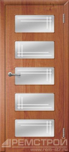 межкомнатные двери, Ремстрой, двери Пенза, двери Заречный, экошпон , модель Барбара, ольха бавария, каталог San Remo, со стеклом, с рисунком, с фьюзингом, глухая, комплект, дверное полотно, коробка, наличник, добор, притворная планка, монтаж, установка, производство, от производителя, фурнитура, ручки, петли, защелки, двери купе.