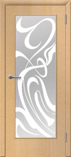 межкомнатные двери, Ремстрой, двери Пенза, двери Заречный, экошпон , модель Фантазия, бук, каталог San Remo, со стеклом, с рисунком, с фьюзингом, глухая, комплект, дверное полотно, коробка, наличник, добор, притворная планка, монтаж, установка, производство, от производителя, фурнитура, ручки, петли, защелки, двери купе.