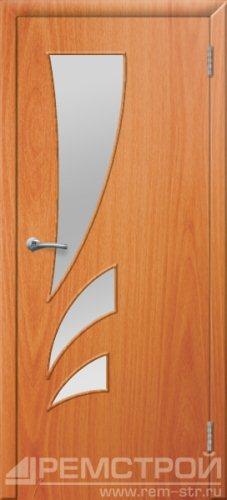межкомнатные двери, Ремстрой, двери Пенза, двери Заречный, экошпон , модель Джаз, орех миланский, каталог San Remo, со стеклом, с рисунком, с фьюзингом, глухая, комплект, дверное полотно, коробка, наличник, добор, притворная планка, монтаж, установка, производство, от производителя, фурнитура, ручки, петли, защелки, двери купе.