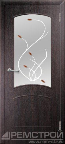 межкомнатные двери, Ремстрой, двери Пенза, двери Заречный, экошпон , модель Классика, венге, каталог San Remo, со стеклом, с рисунком, с фьюзингом, глухая, комплект, дверное полотно, коробка, наличник, добор, притворная планка, монтаж, установка, производство, от производителя, фурнитура, ручки, петли, защелки, двери купе.