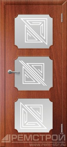 межкомнатные двери, Ремстрой, двери Пенза, двери Заречный, экошпон , модель Маэстро, орех итальянский, каталог San Remo, со стеклом, с рисунком, с фьюзингом, глухая, комплект, дверное полотно, коробка, наличник, добор, притворная планка, монтаж, установка, производство, от производителя, фурнитура, ручки, петли, защелки, двери купе.