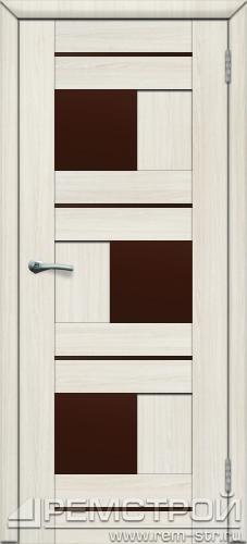 межкомнатные двери, Ремстрой, двери Пенза, двери Заречный, экошпон , модель Твист1, белое дерево, каталог San Remo, со стеклом, с рисунком, с фьюзингом, глухая, комплект, дверное полотно, коробка, наличник, добор, притворная планка, монтаж, установка, производство, от производителя, фурнитура, ручки, петли, защелки, двери купе.