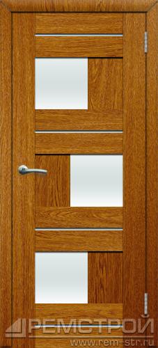 межкомнатные двери, Ремстрой, двери Пенза, двери Заречный, экошпон , модель Твист1, дуб седан, каталог San Remo, со стеклом, с рисунком, с фьюзингом, глухая, комплект, дверное полотно, коробка, наличник, добор, притворная планка, монтаж, установка, производство, от производителя, фурнитура, ручки, петли, защелки, двери купе.