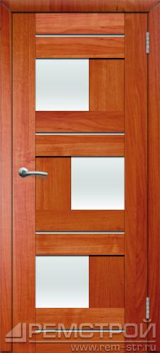 межкомнатные двери, Ремстрой, двери Пенза, двери Заречный, экошпон , модель Твист1, ольха бавария, каталог San Remo, со стеклом, с рисунком, с фьюзингом, глухая, комплект, дверное полотно, коробка, наличник, добор, притворная планка, монтаж, установка, производство, от производителя, фурнитура, ручки, петли, защелки, двери купе.