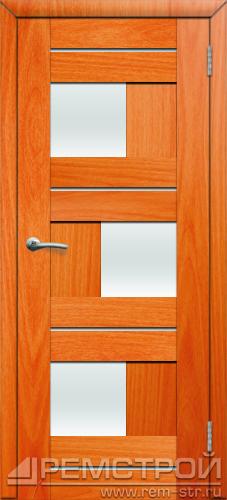 межкомнатные двери, Ремстрой, двери Пенза, двери Заречный, экошпон , модель Твист1, орех миланский, каталог San Remo, со стеклом, с рисунком, с фьюзингом, глухая, комплект, дверное полотно, коробка, наличник, добор, притворная планка, монтаж, установка, производство, от производителя, фурнитура, ручки, петли, защелки, двери купе.