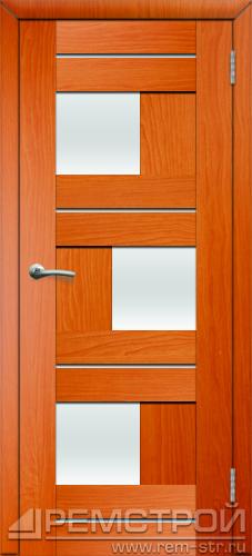 межкомнатные двери, Ремстрой, двери Пенза, двери Заречный, экошпон , модель Твист1, вишня форема, каталог San Remo, со стеклом, с рисунком, с фьюзингом, глухая, комплект, дверное полотно, коробка, наличник, добор, притворная планка, монтаж, установка, производство, от производителя, фурнитура, ручки, петли, защелки, двери купе.