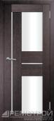 межкомнатные двери, Ремстрой, двери Пенза, двери Заречный, экошпон , модель Твист3, венге, каталог San Remo, со стеклом, с рисунком, с фьюзингом, глухая, комплект, дверное полотно, коробка, наличник, добор, притворная планка, монтаж, установка, производство, от производителя, фурнитура, ручки, петли, защелки, двери купе.