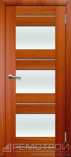 межкомнатные двери, Ремстрой, двери Пенза, двери Заречный, экошпон , модель Твист6, каштан, каталог San Remo, со стеклом, с рисунком, с фьюзингом, глухая, комплект, дверное полотно, коробка, наличник, добор, притворная планка, монтаж, установка, производство, от производителя, фурнитура, ручки, петли, защелки, двери купе.