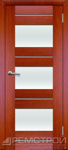 межкомнатные двери, Ремстрой, двери Пенза, двери Заречный, экошпон , модель Твист6, орех итальянский, каталог San Remo, со стеклом, с рисунком, с фьюзингом, глухая, комплект, дверное полотно, коробка, наличник, добор, притворная планка, монтаж, установка, производство, от производителя, фурнитура, ручки, петли, защелки, двери купе.