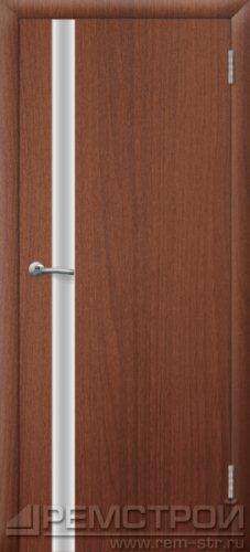 межкомнатные двери, Ремстрой, двери Пенза, двери Заречный, экошпон , модель Hi-Tech-2, орех тисненый, каталог San Remo, со стеклом, с рисунком, с фьюзингом, глухая, комплект, дверное полотно, коробка, наличник, добор, притворная планка, монтаж, установка, производство, от производителя, фурнитура, ручки, петли, защелки, двери купе.