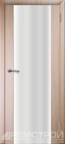 межкомнатные двери, Ремстрой, двери Пенза, двери Заречный, экошпон , модель Оптима-1, дуб выбеленный, каталог San Remo, со стеклом, с рисунком, с фьюзингом, глухая, комплект, дверное полотно, коробка, наличник, добор, притворная планка, монтаж, установка, производство, от производителя, фурнитура, ручки, петли, защелки, двери купе.