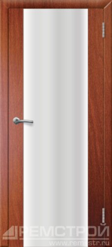 межкомнатные двери, Ремстрой, двери Пенза, двери Заречный, экошпон , модель Оптима-1, орех итальянский, каталог San Remo, со стеклом, с рисунком, с фьюзингом, глухая, комплект, дверное полотно, коробка, наличник, добор, притворная планка, монтаж, установка, производство, от производителя, фурнитура, ручки, петли, защелки, двери купе.