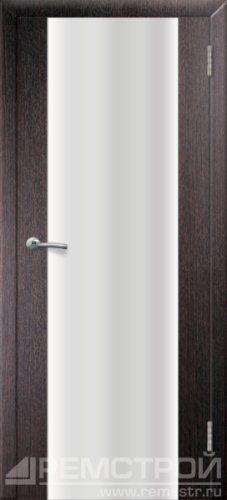 межкомнатные двери, Ремстрой, двери Пенза, двери Заречный, экошпон , модель Оптима-1, венге, каталог San Remo, со стеклом, с рисунком, с фьюзингом, глухая, комплект, дверное полотно, коробка, наличник, добор, притворная планка, монтаж, установка, производство, от производителя, фурнитура, ручки, петли, защелки, двери купе.