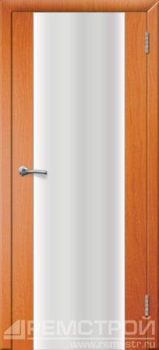 межкомнатные двери, Ремстрой, двери Пенза, двери Заречный, экошпон , модель Оптима-1, вишня форема, каталог San Remo, со стеклом, с рисунком, с фьюзингом, глухая, комплект, дверное полотно, коробка, наличник, добор, притворная планка, монтаж, установка, производство, от производителя, фурнитура, ручки, петли, защелки, двери купе.