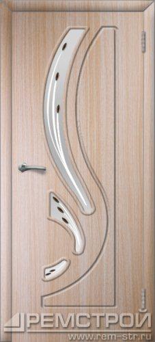 межкомнатные двери, Ремстрой, двери Пенза, двери Заречный, экошпон , модель Фрегат, дуб выбеленный, каталог San Remo, со стеклом, с рисунком, с фьюзингом, глухая, комплект, дверное полотно, коробка, наличник, добор, притворная планка, монтаж, установка, производство, от производителя, фурнитура, ручки, петли, защелки, двери купе.