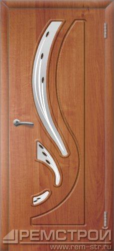 межкомнатные двери, Ремстрой, двери Пенза, двери Заречный, экошпон , модель Фрегат, ольха бавария, каталог San Remo, со стеклом, с рисунком, с фьюзингом, глухая, комплект, дверное полотно, коробка, наличник, добор, притворная планка, монтаж, установка, производство, от производителя, фурнитура, ручки, петли, защелки, двери купе.