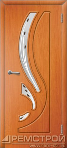 межкомнатные двери, Ремстрой, двери Пенза, двери Заречный, экошпон , модель Фрегат, вишня форема, каталог San Remo, со стеклом, с рисунком, с фьюзингом, глухая, комплект, дверное полотно, коробка, наличник, добор, притворная планка, монтаж, установка, производство, от производителя, фурнитура, ручки, петли, защелки, двери купе.