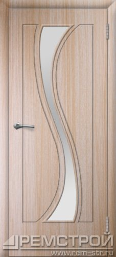 межкомнатные двери, Ремстрой, двери Пенза, двери Заречный, экошпон , модель Грация, дуб выбеленный, каталог San Remo, со стеклом, с рисунком, с фьюзингом, глухая, комплект, дверное полотно, коробка, наличник, добор, притворная планка, монтаж, установка, производство, от производителя, фурнитура, ручки, петли, защелки, двери купе.