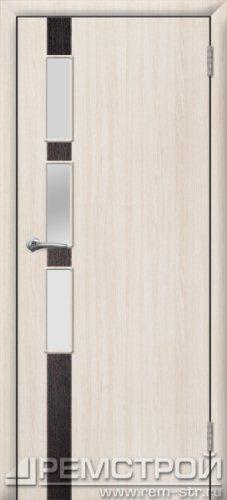 межкомнатные двери, Ремстрой, двери Пенза, двери Заречный, экошпон , модель Европа-1, белое дерево, каталог San Remo, со стеклом, с рисунком, с фьюзингом, глухая, комплект, дверное полотно, коробка, наличник, добор, притворная планка, монтаж, установка, производство, от производителя, фурнитура, ручки, петли, защелки, двери купе.
