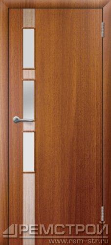 межкомнатные двери, Ремстрой, двери Пенза, двери Заречный, экошпон , модель Европа-1, каштан, каталог San Remo, со стеклом, с рисунком, с фьюзингом, глухая, комплект, дверное полотно, коробка, наличник, добор, притворная планка, монтаж, установка, производство, от производителя, фурнитура, ручки, петли, защелки, двери купе.