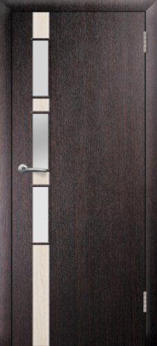 межкомнатные двери, Ремстрой, двери Пенза, двери Заречный, экошпон , модель Европа-1, венге, каталог San Remo, со стеклом, с рисунком, с фьюзингом, глухая, комплект, дверное полотно, коробка, наличник, добор, притворная планка, монтаж, установка, производство, от производителя, фурнитура, ручки, петли, защелки, двери купе.
