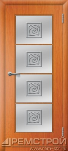 межкомнатные двери, Ремстрой, двери Пенза, двери Заречный, экошпон , модель Вена, вишня форема, каталог San Remo, со стеклом, с рисунком, с фьюзингом, глухая, комплект, дверное полотно, коробка, наличник, добор, притворная планка, монтаж, установка, производство, от производителя, фурнитура, ручки, петли, защелки, двери купе.