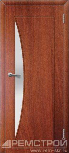 межкомнатные двери, Ремстрой, двери Пенза, двери Заречный, экошпон , модель Луна, орех итальянский, каталог San Remo, со стеклом, с рисунком, с фьюзингом, глухая, комплект, дверное полотно, коробка, наличник, добор, притворная планка, монтаж, установка, производство, от производителя, фурнитура, ручки, петли, защелки, двери купе.